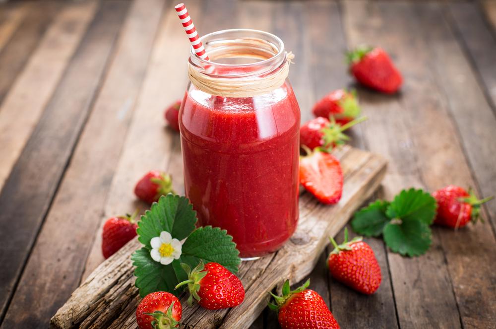 smoothie cu pepene rosu