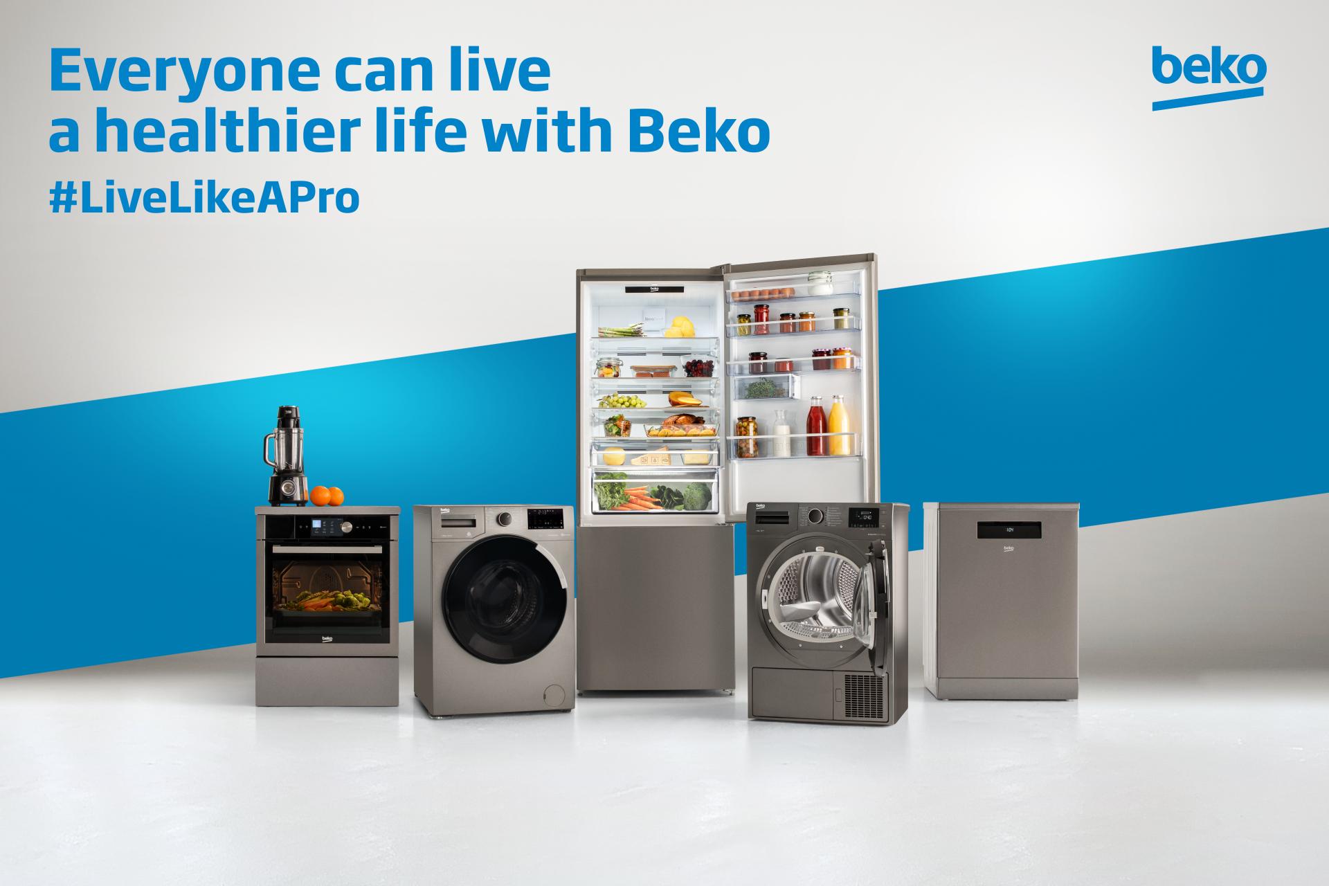 Beko 2020 Live Like A Pro Key Visual Image