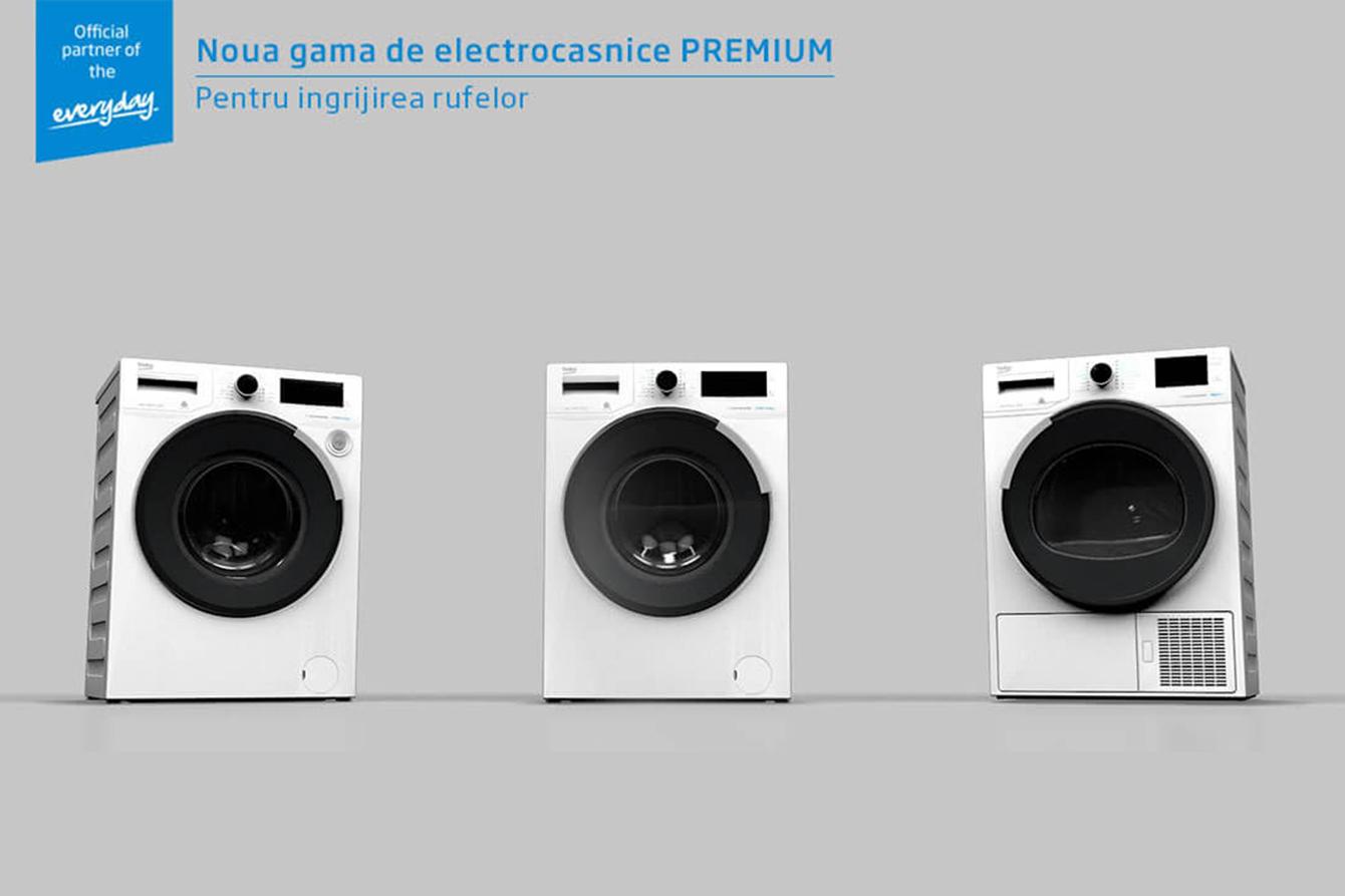 beko premium laundry range