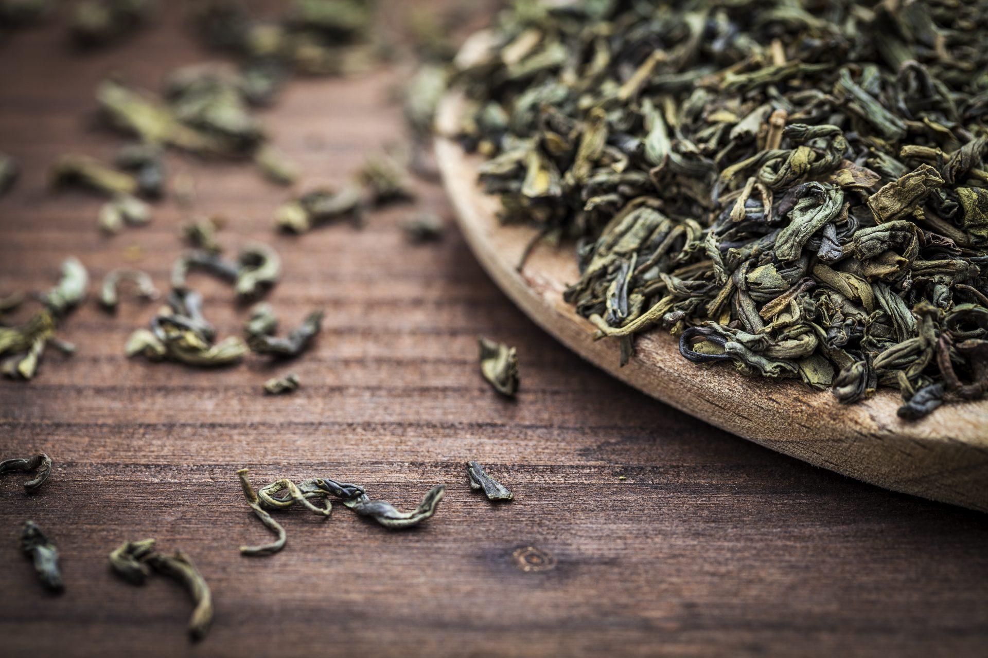 rol ceai verde