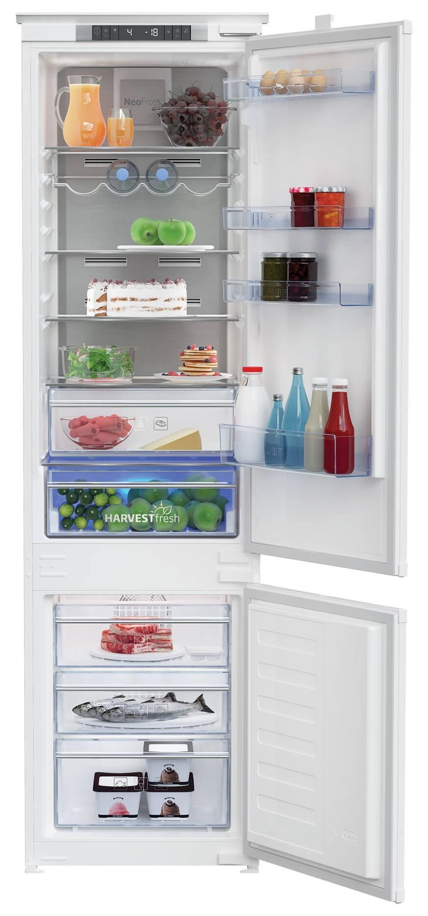 Combina frigorifica incorporabila Beko BCNA306E4SN