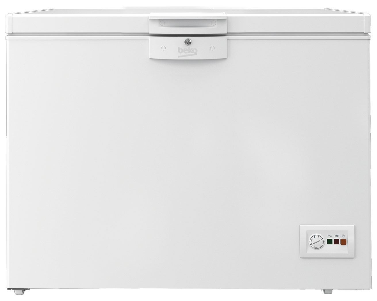 Lada frigorifica Beko HSA24540N, 230 l, E, Alb
