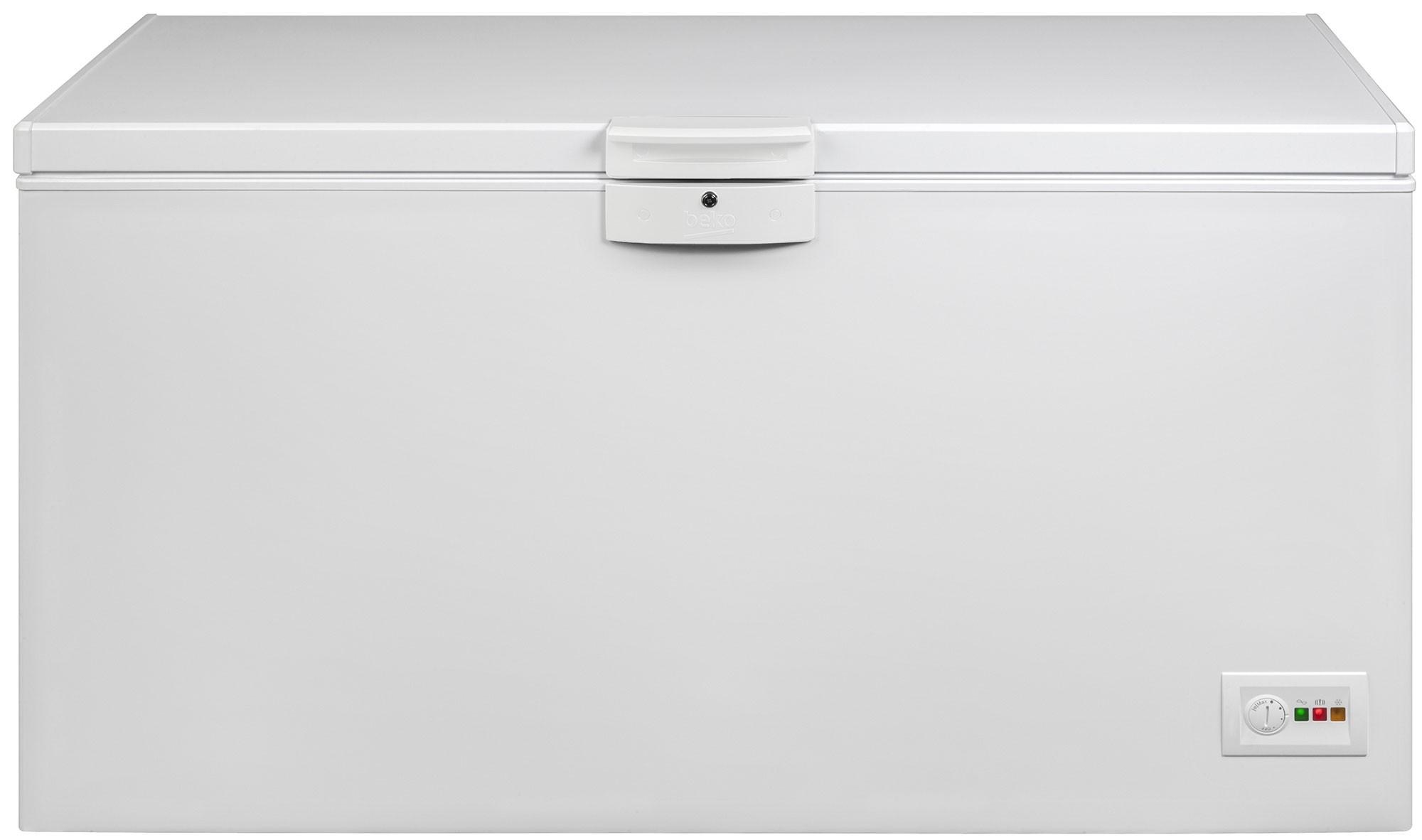Lada frigorifica Beko HSA37540N, 350 l, E, Alb