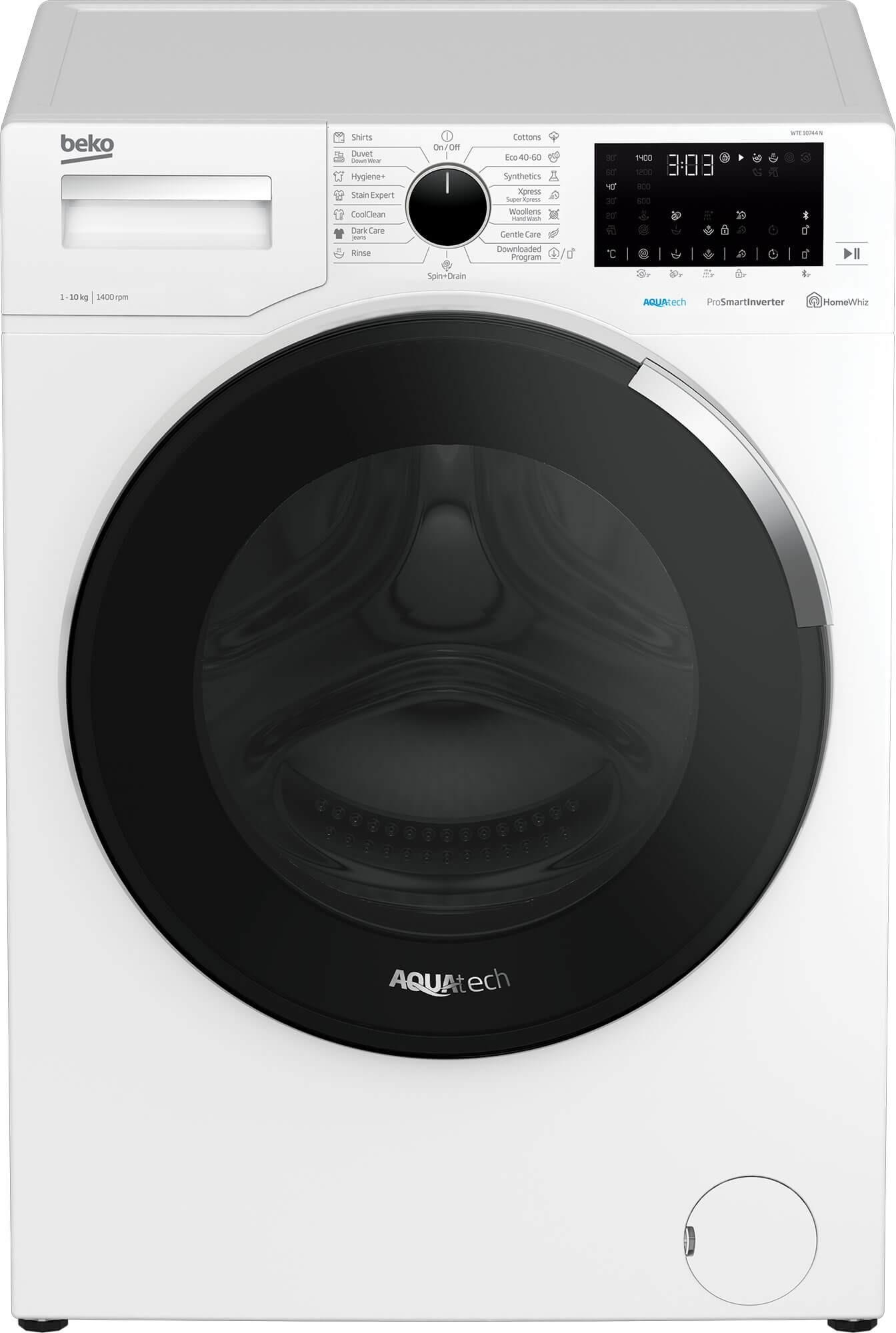 Masina de spalat rufe Beko WTE10744N