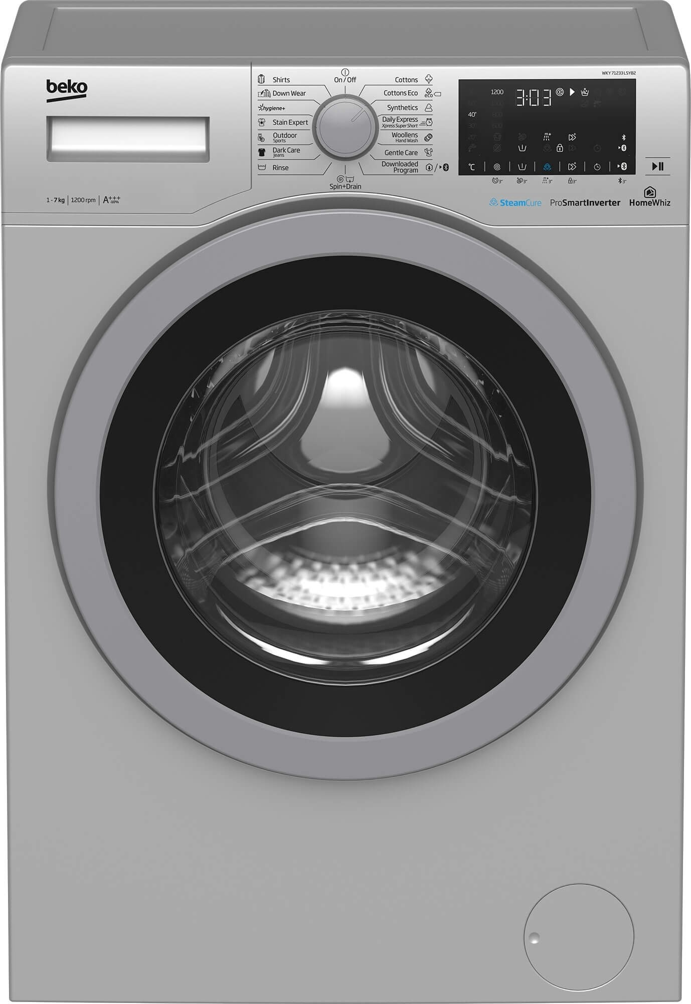 Masina de spalat rufe Beko WKY71233LSYB2 (NOU 2019)