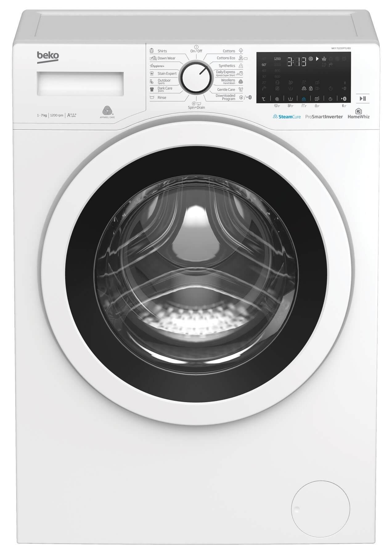 Masina de spalat rufe Beko WKY71233PTLYB3 (NOU 2019)