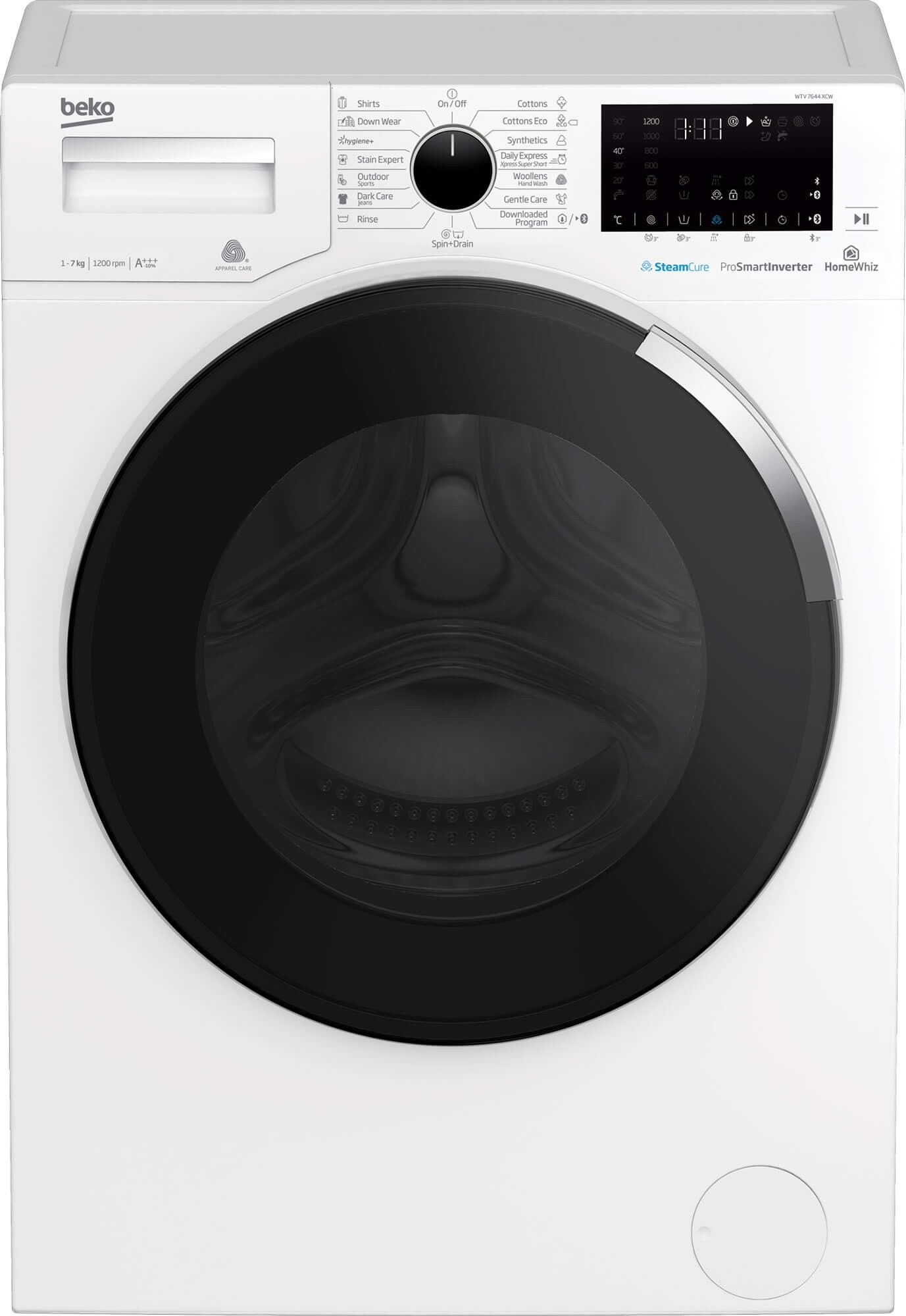 Masina de spalat rufe Beko WTV7644XCW