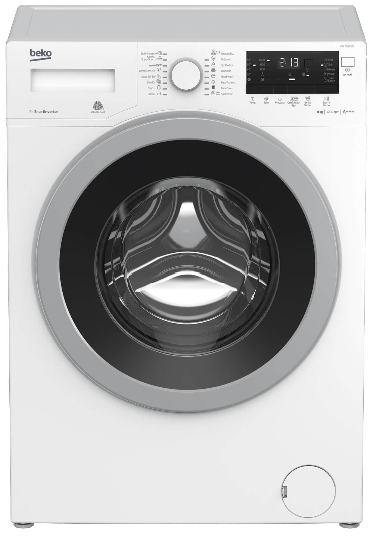 Masina de spalat rufe Beko WTV8633XS0