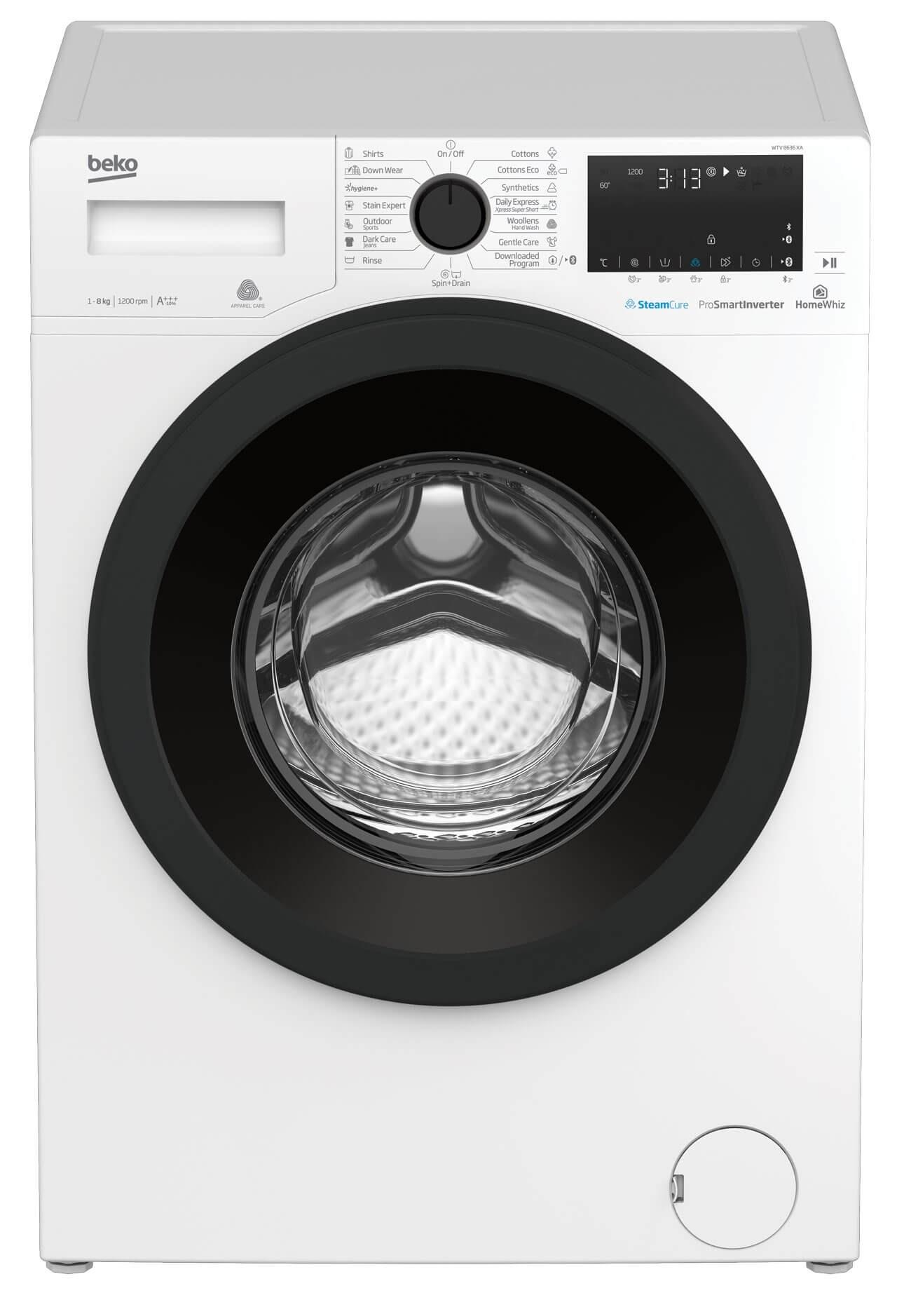 Masina de spalat rufe WTV8636XA