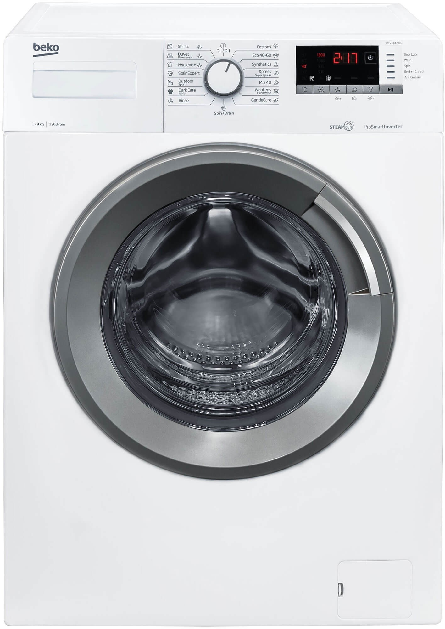Masina de spalat rufe Beko WTV9612XS