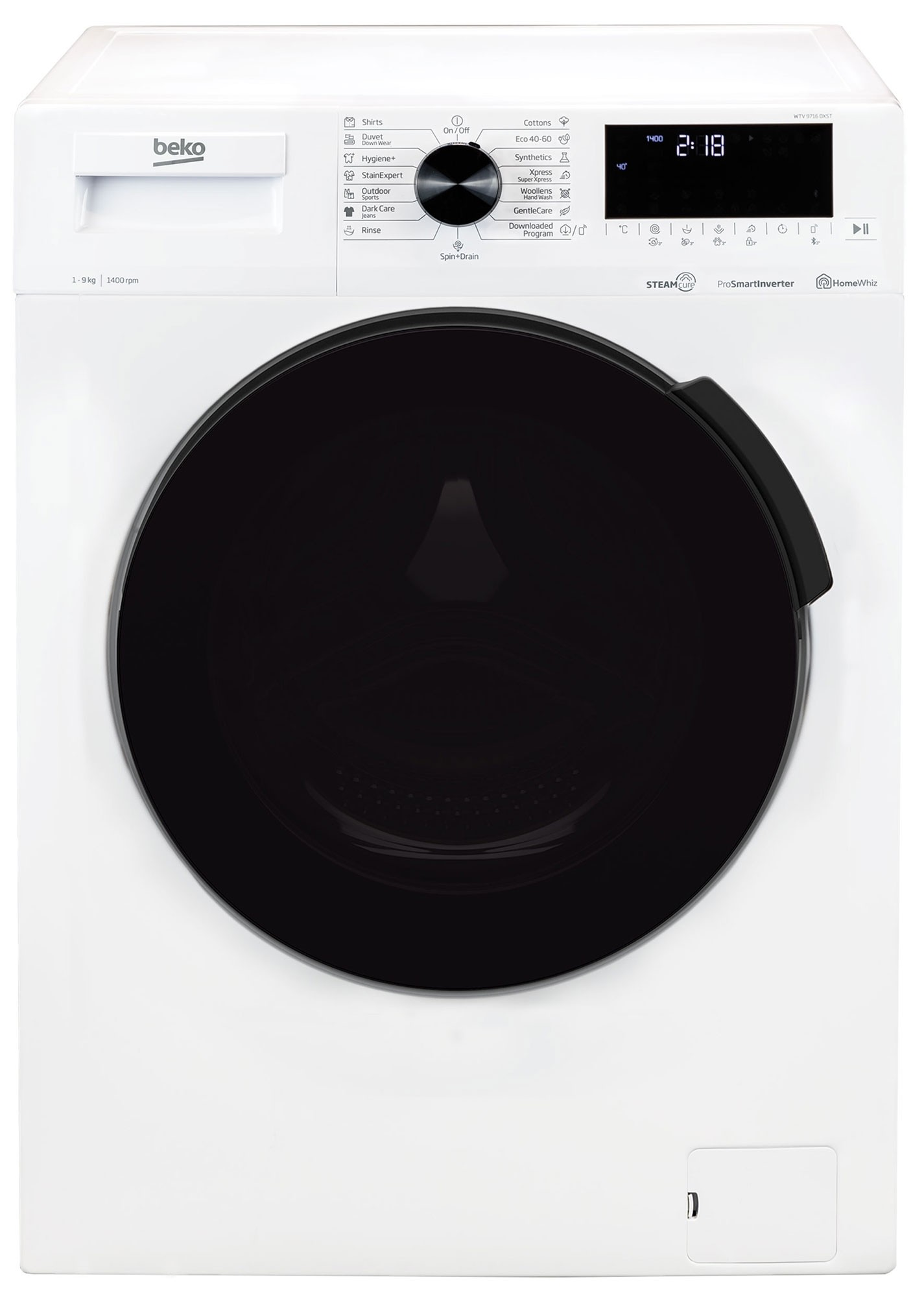Masina de spalat rufe Beko WTV9716DXST (NOU 2020)