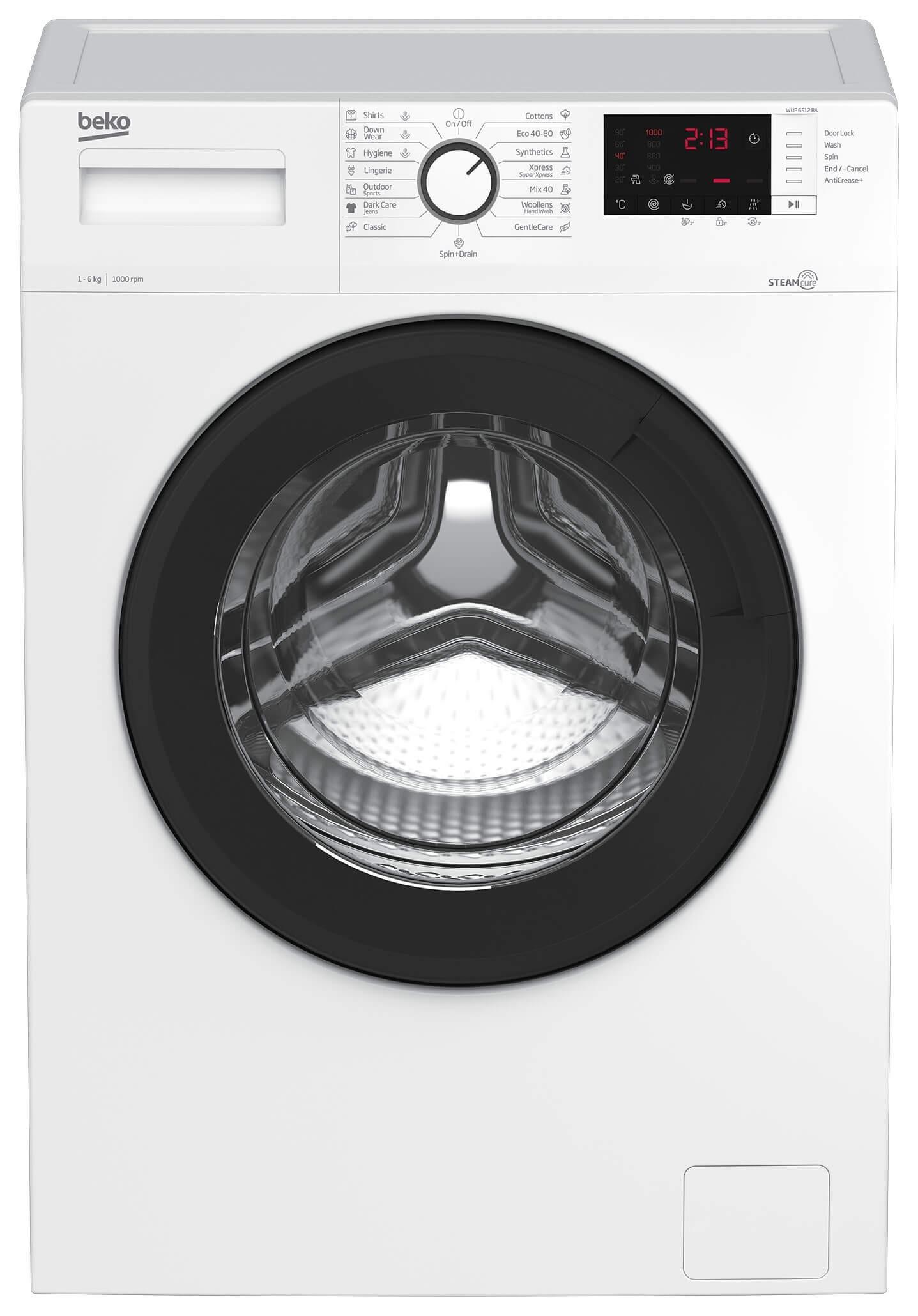 Masina de spalat rufe Beko WUE6512BA
