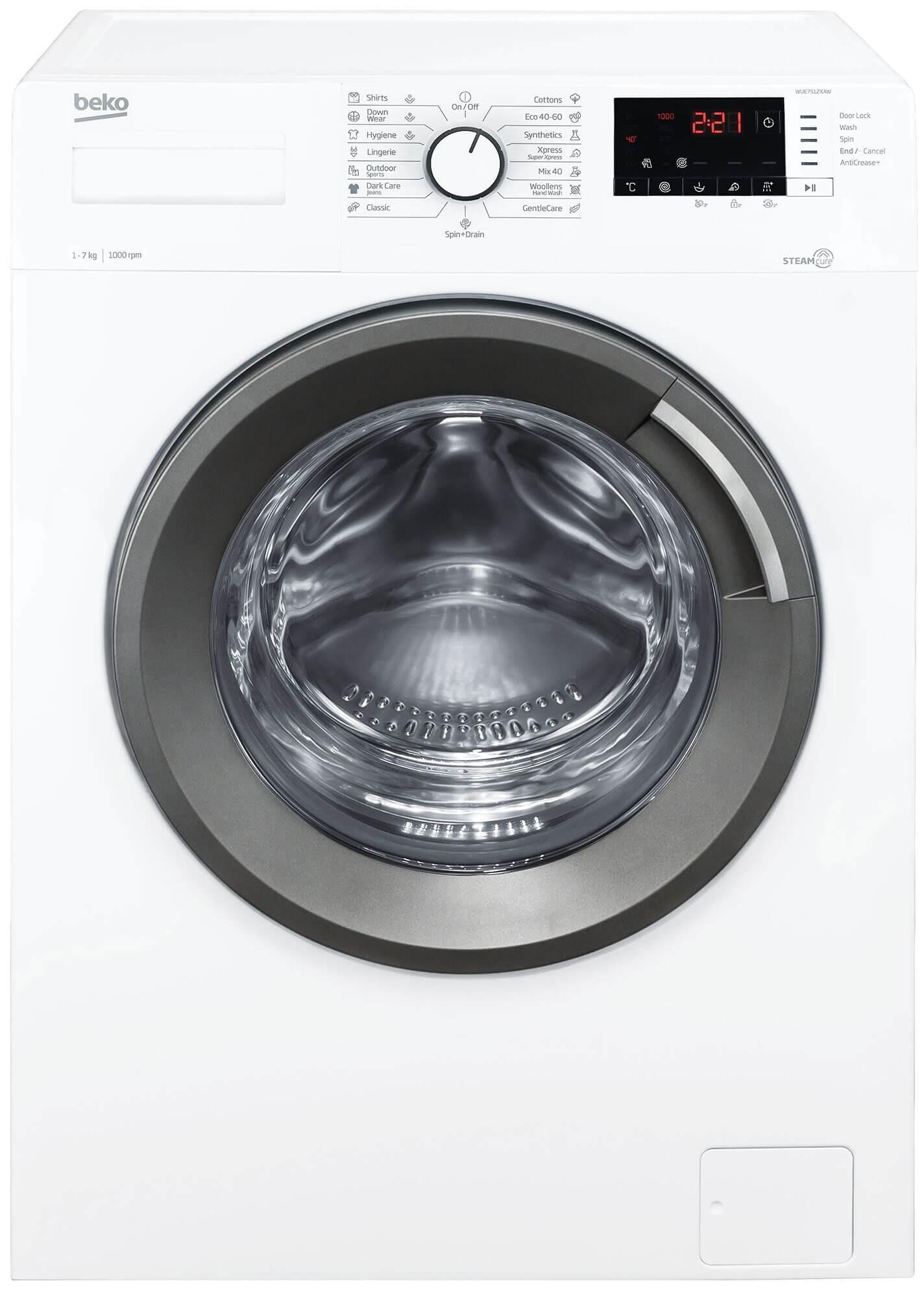 Masina de spalat rufe Beko WUE7512XAW