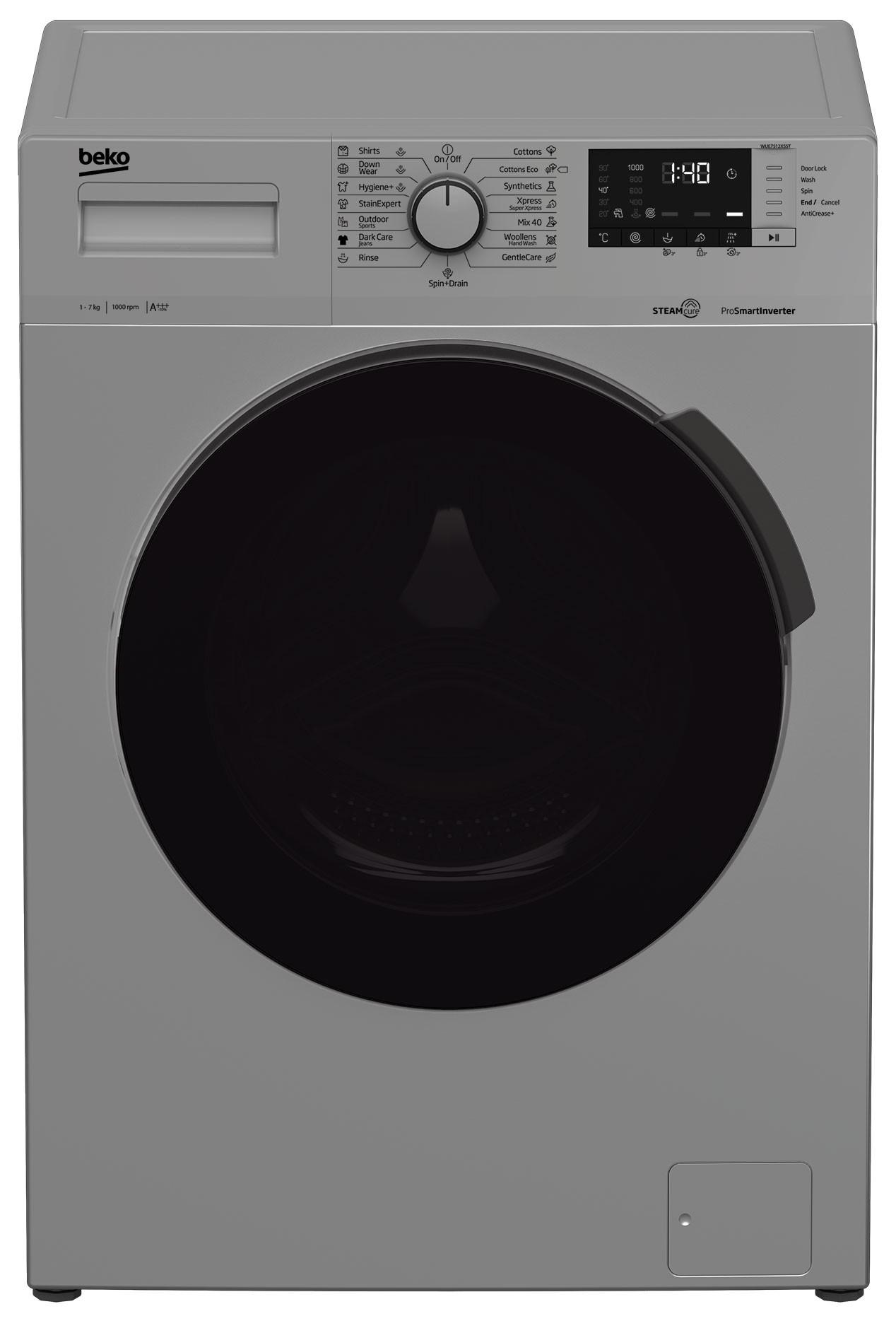 Masina de spalat rufe Beko WUE7512XSST