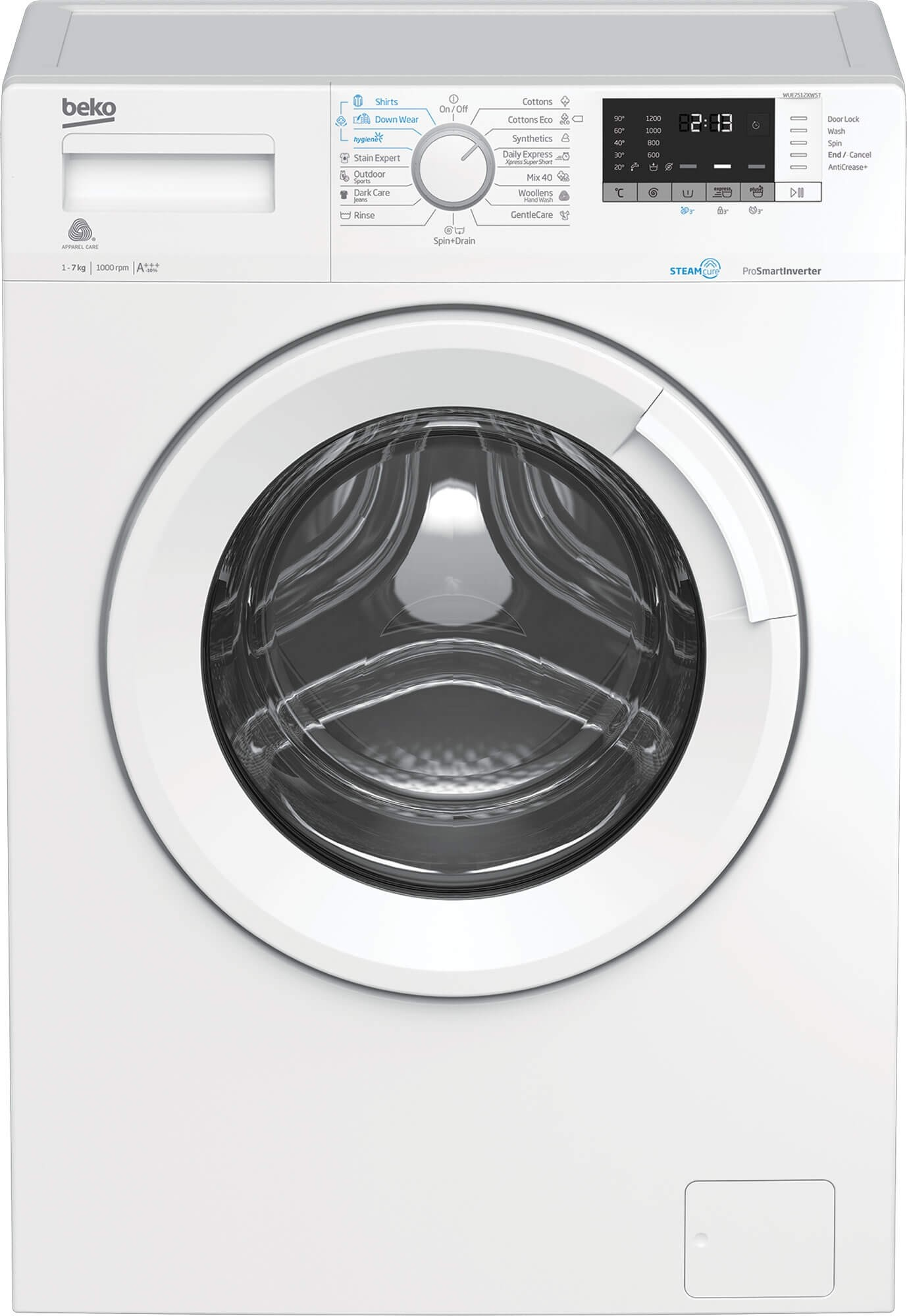 Masina de spalat rufe Beko WUE7512XWST (2019)