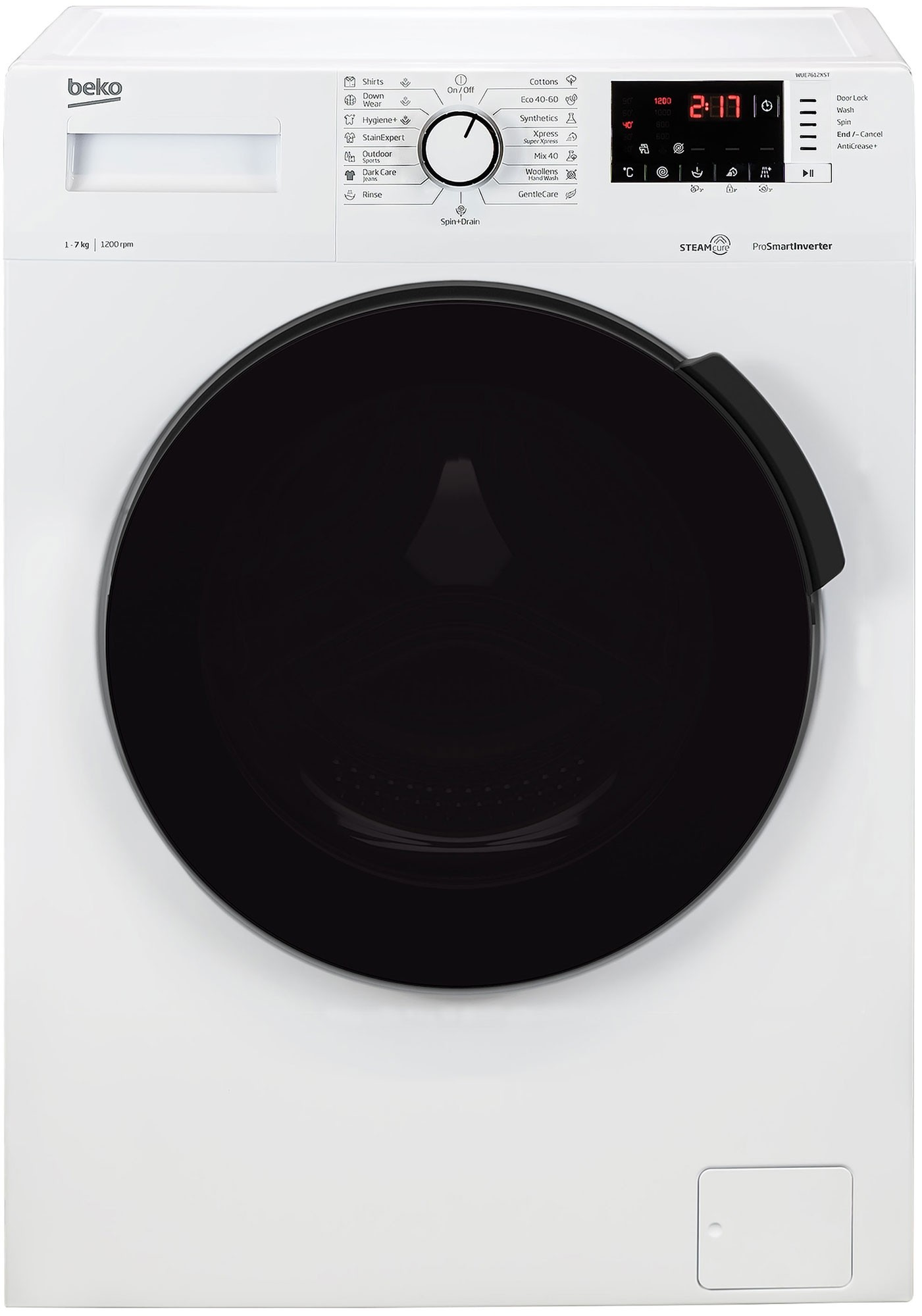Masina de spalat rufe Beko WUE7612XST