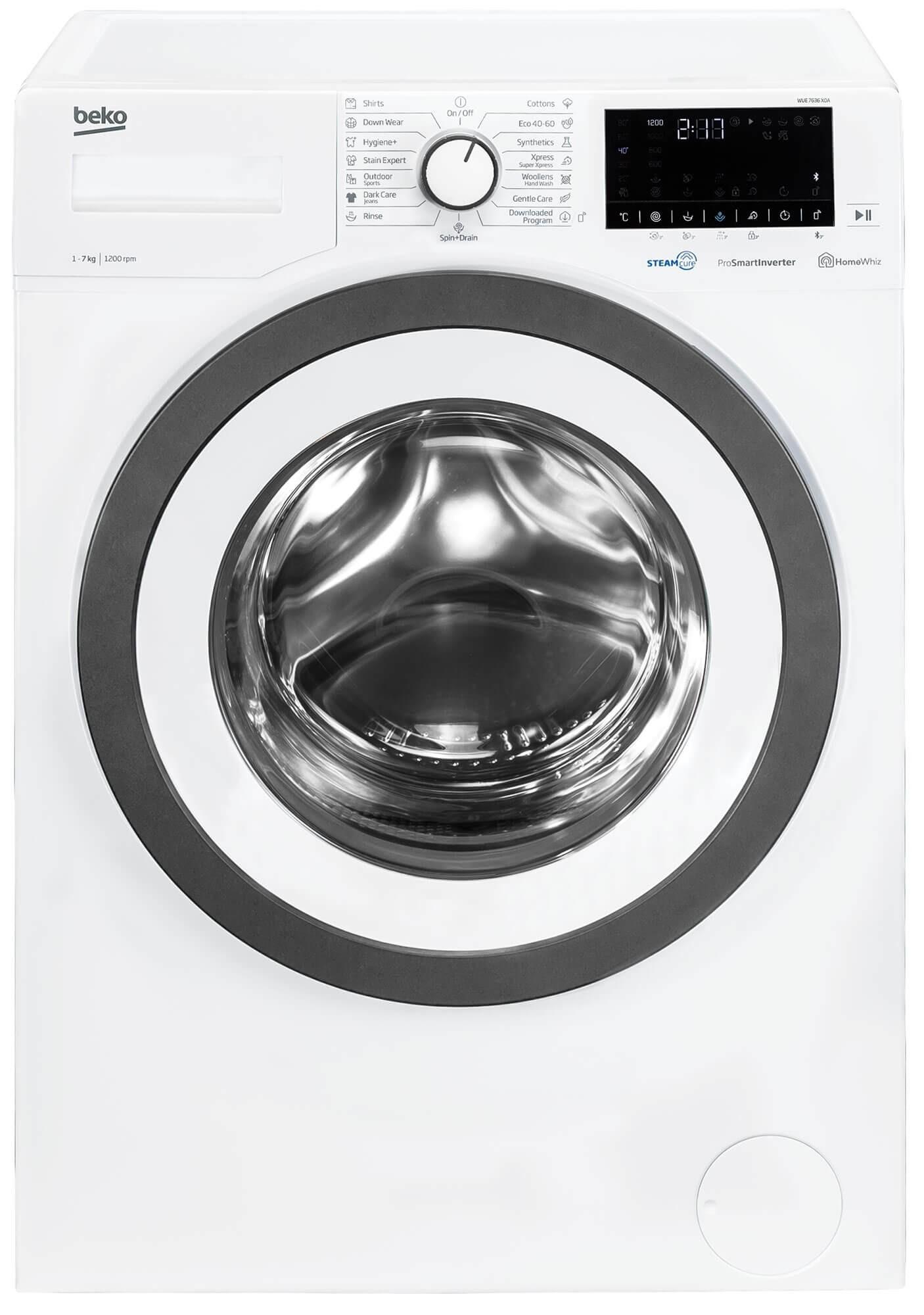 Masina de spalat rufe Beko WUE7636X0A
