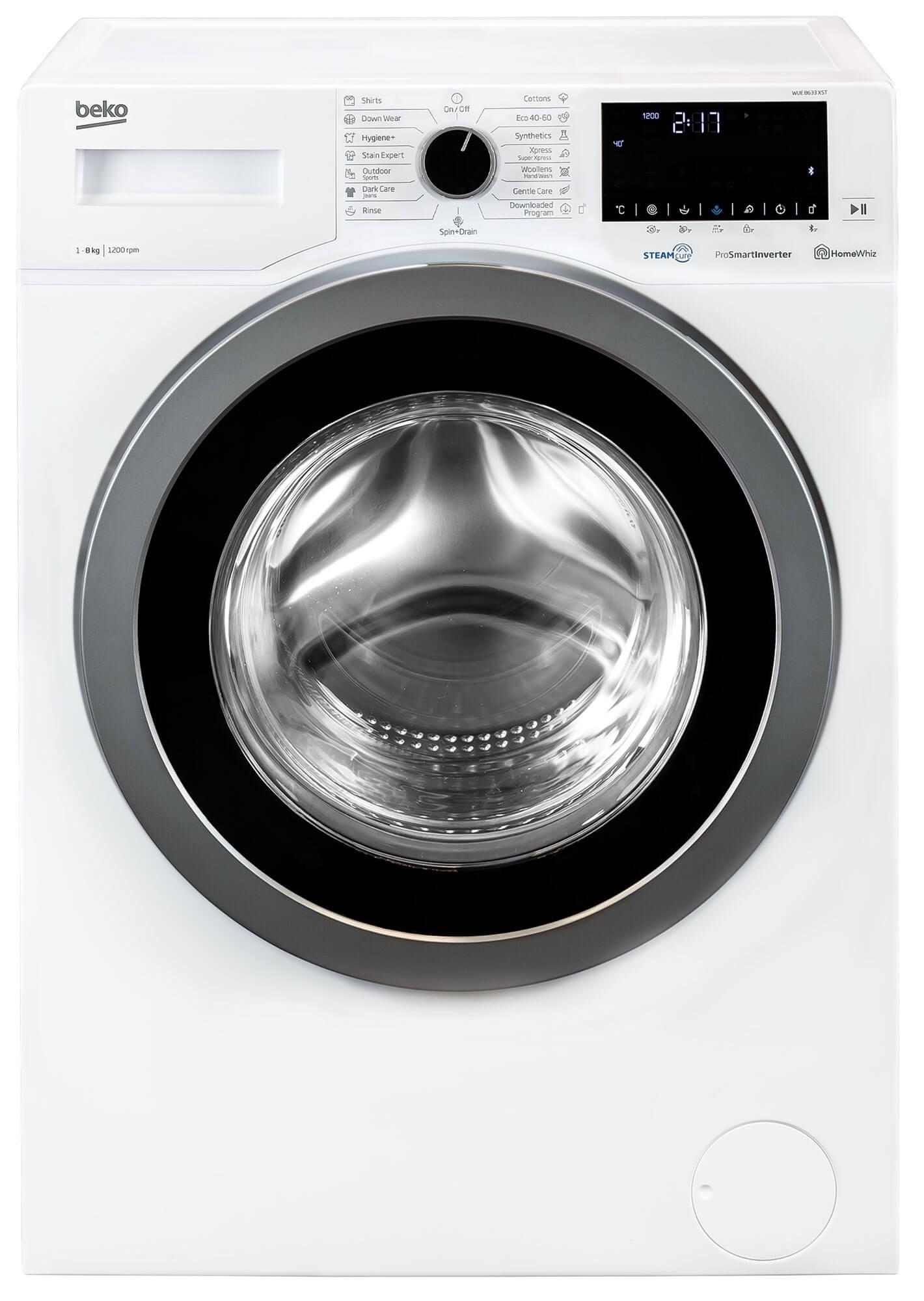 Masina de spalat rufe Beko WUE8633XST (NOU 2020)