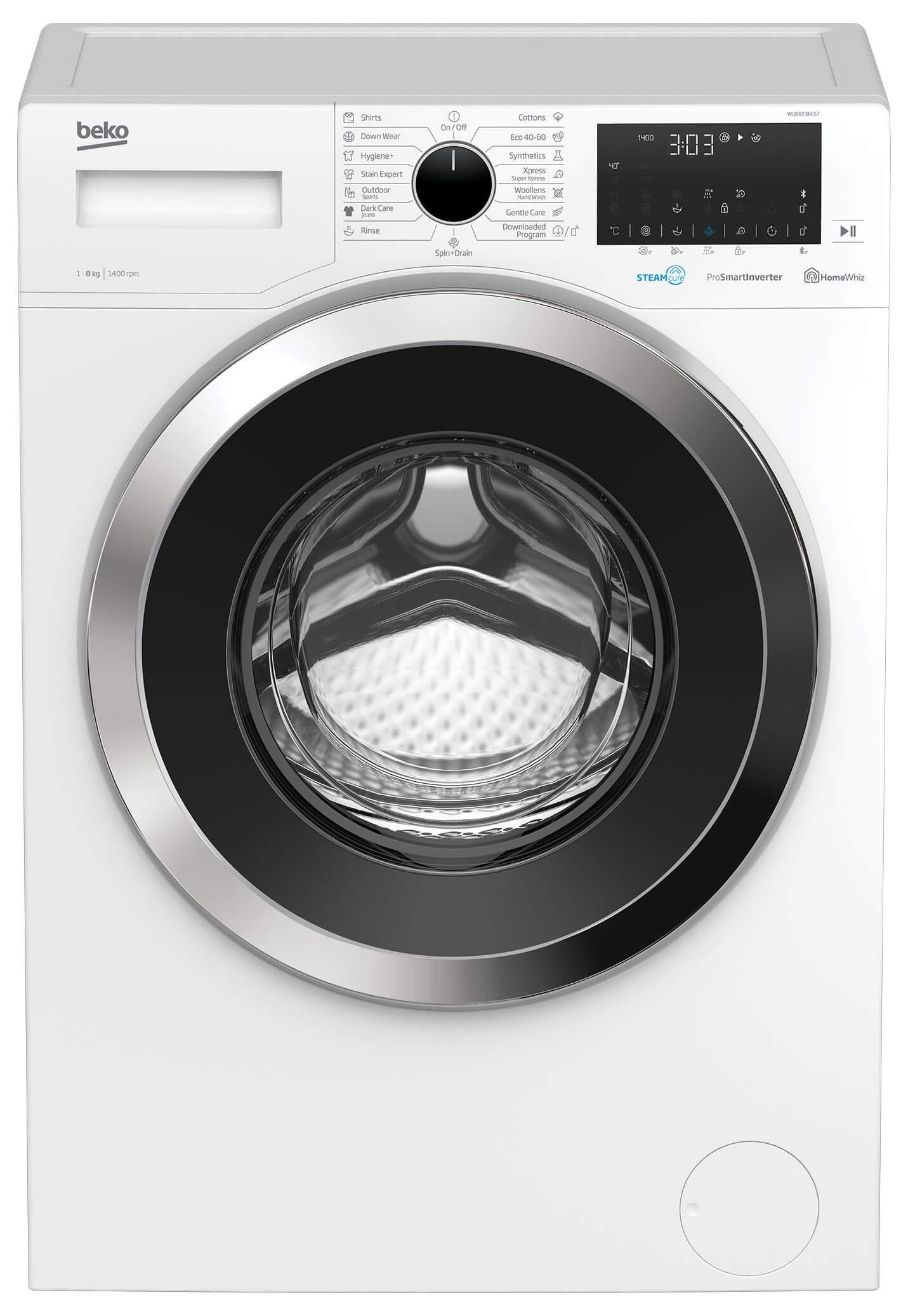 Masina de spalat rufe Beko WUE8736CST