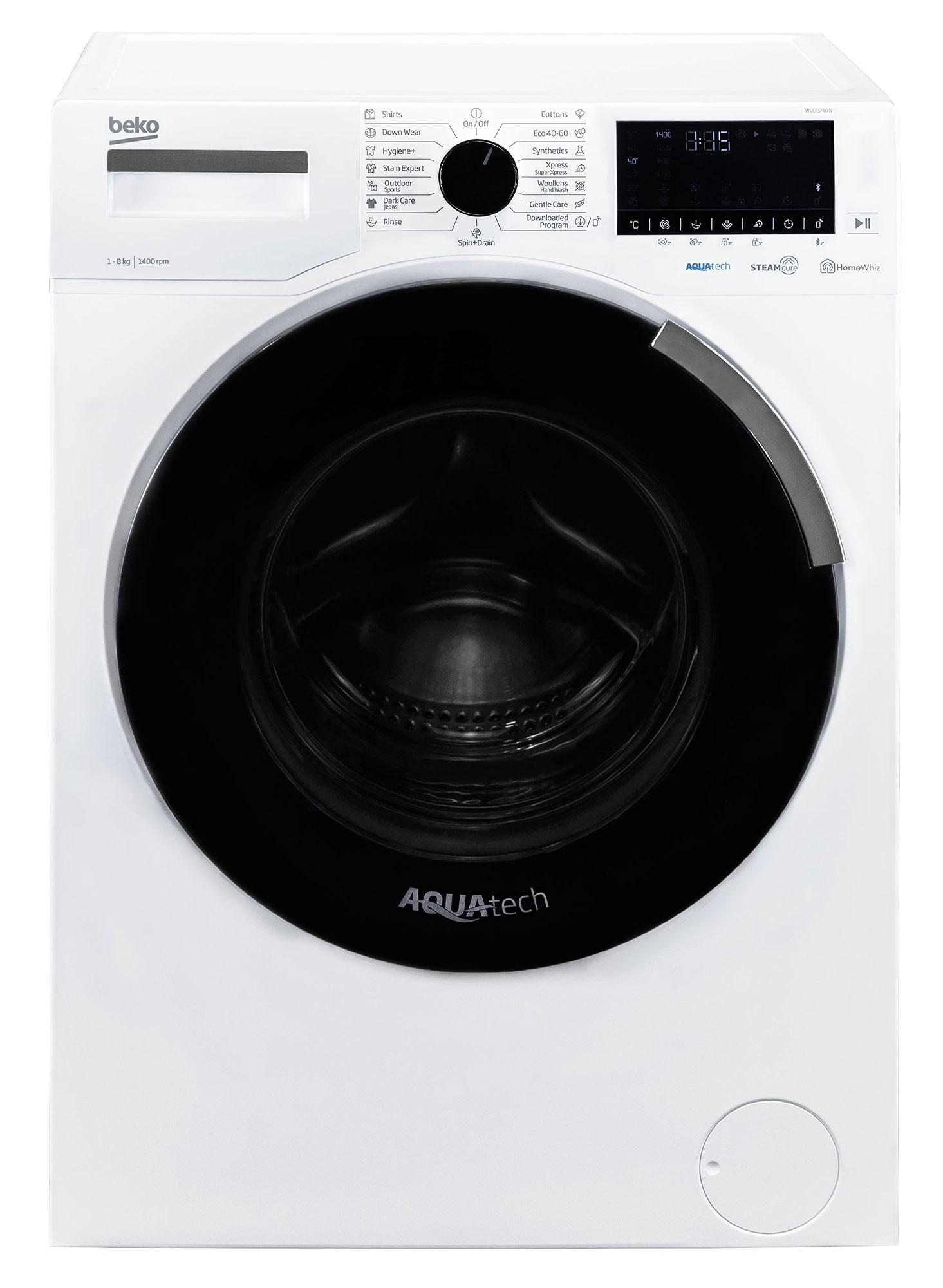 Masina de spalat rufe Beko WUE8746N (NOU 2020)