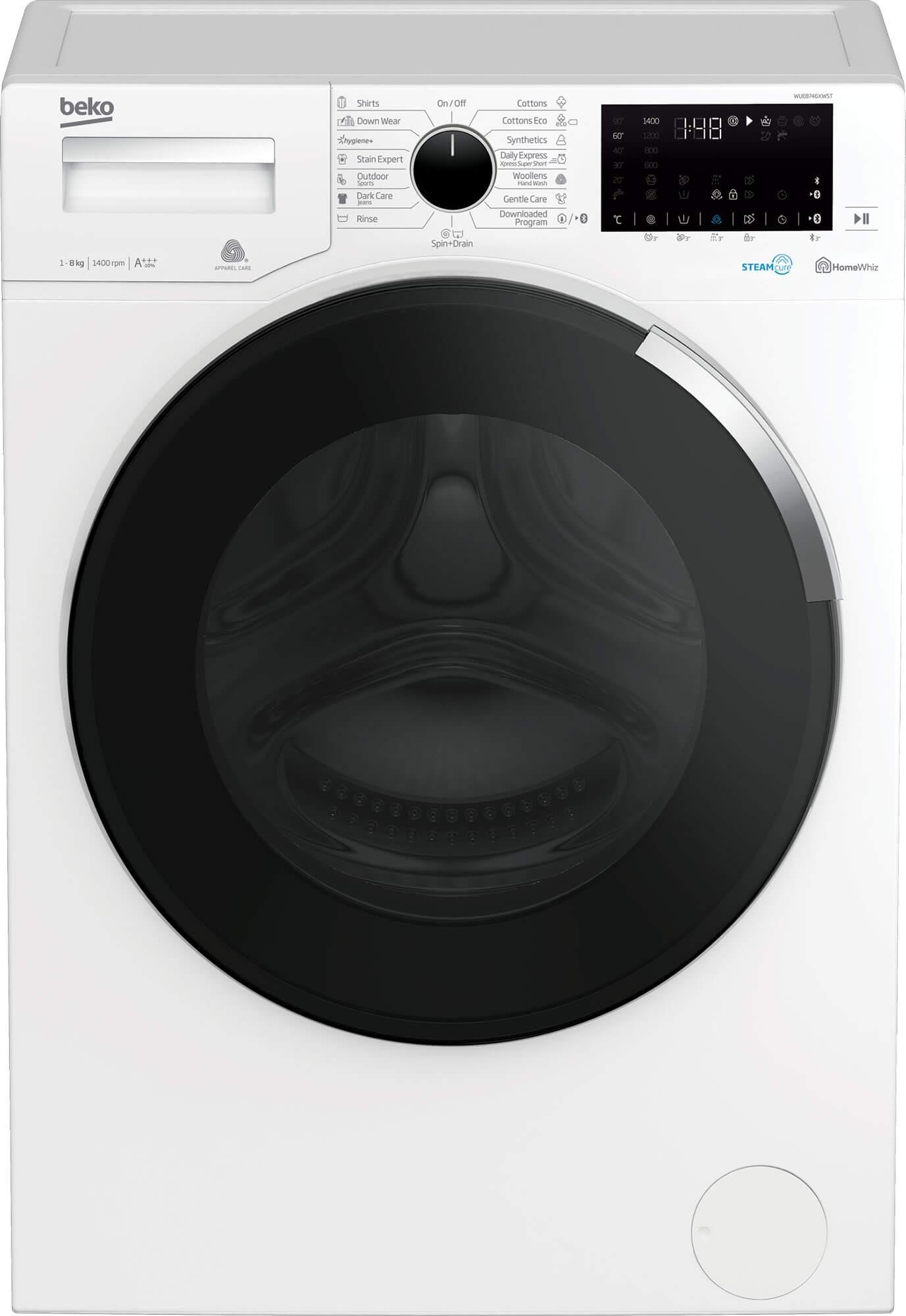 Masina de spalat rufe Beko WUE8746XWST (2019)