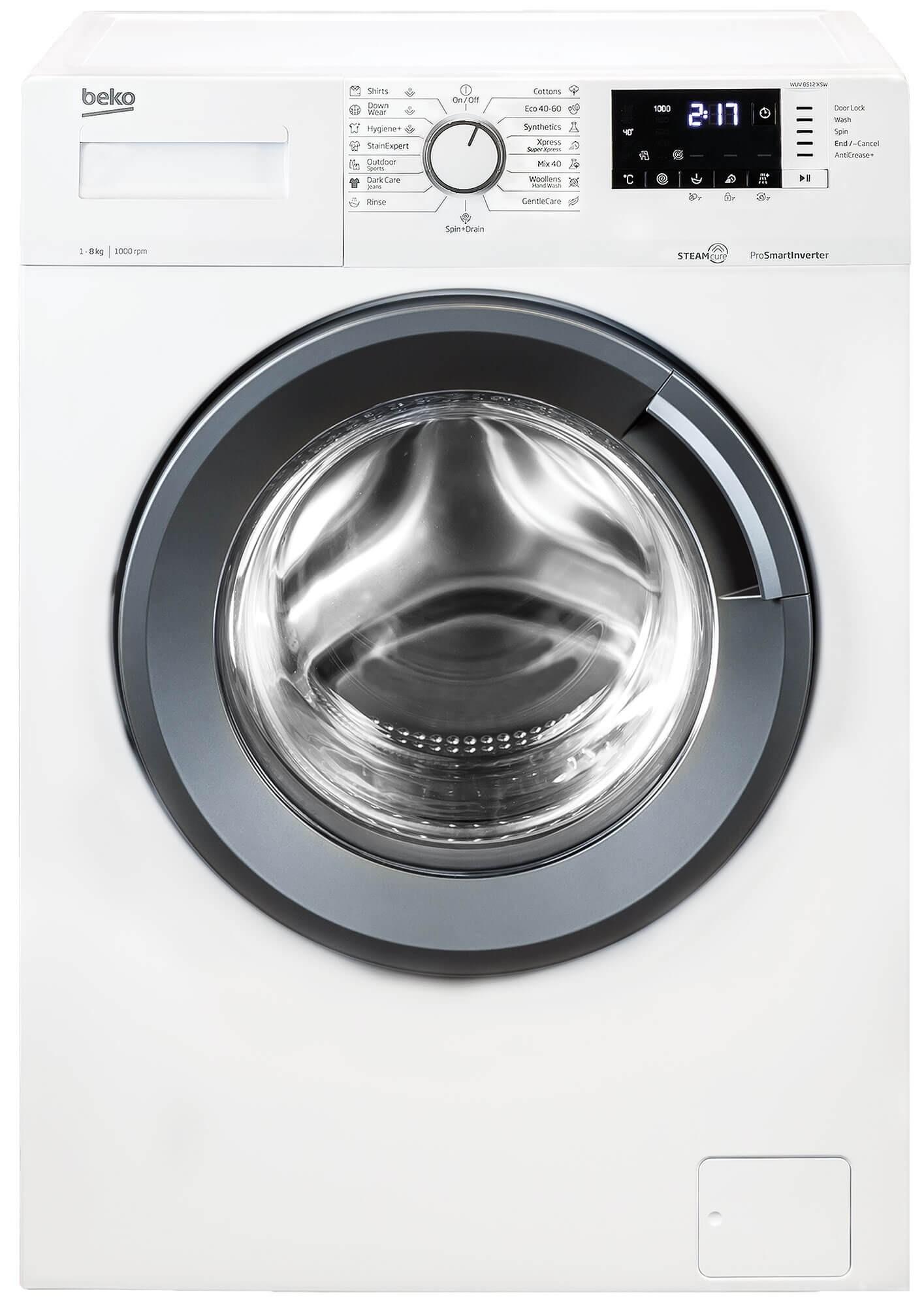 Masina de spalat rufe Beko WUV8512XSW