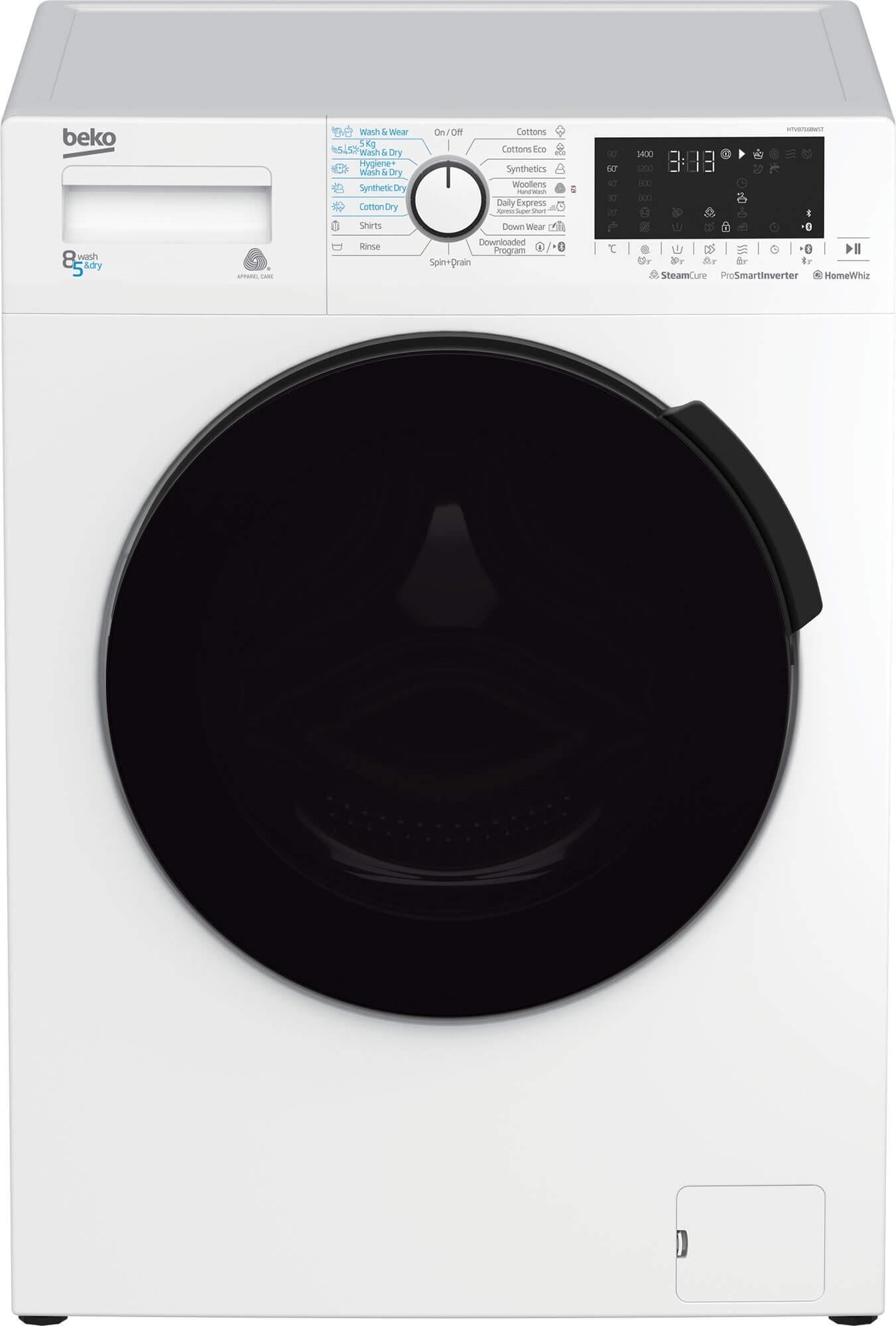 Masina de spalat rufe cu uscator HTV8716BWST