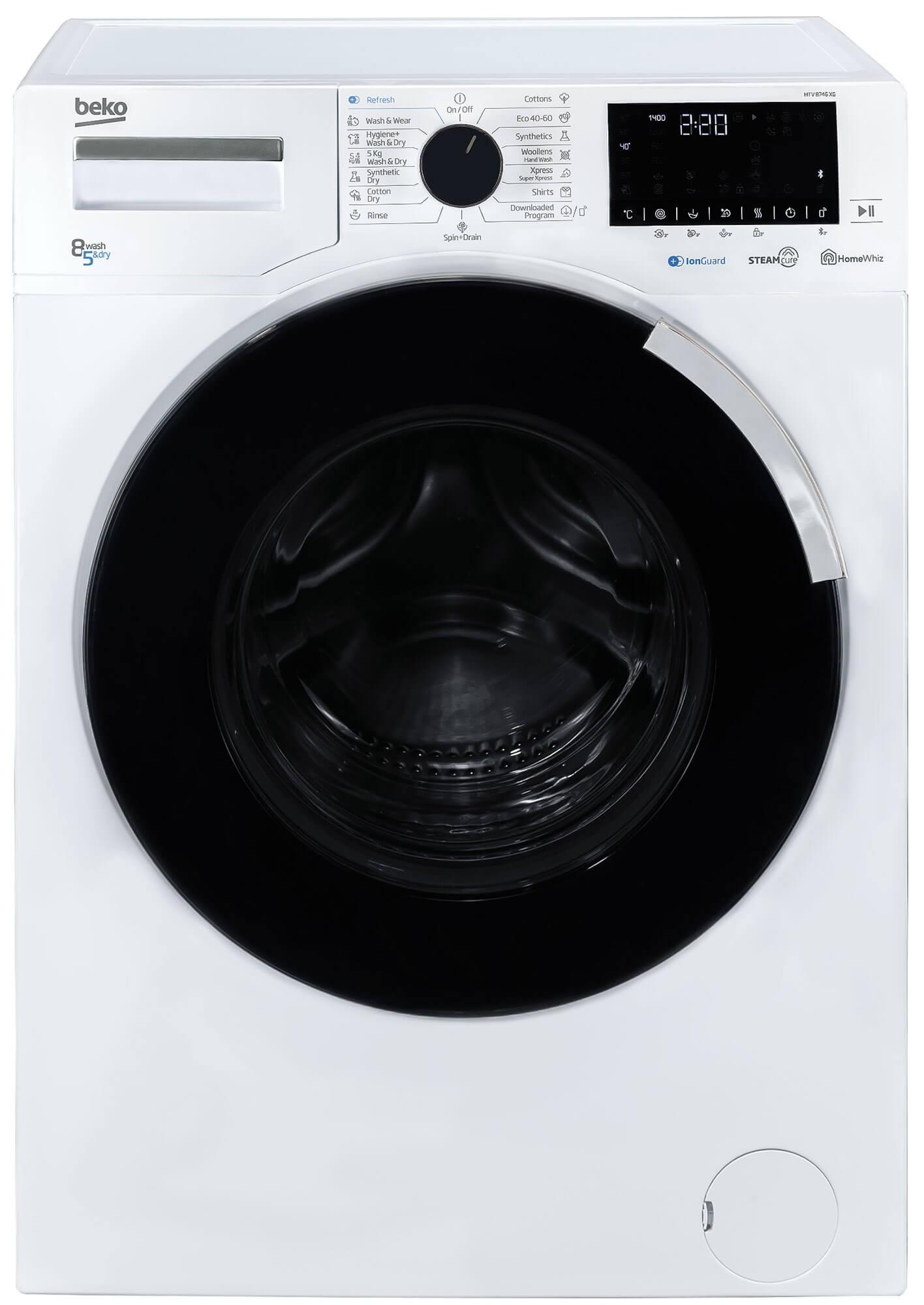Masina de spalat rufe cu uscator Beko HTV8746XG (NOU 2020)
