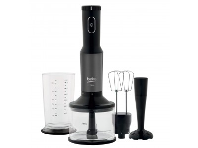 Set Blender de mana Beko Dark Inox HBA7753DX
